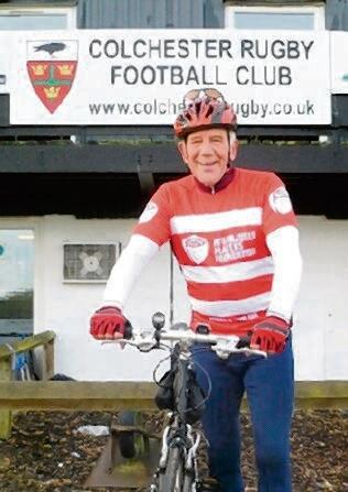 70-year-old to take on a 100-mile cycle challenge